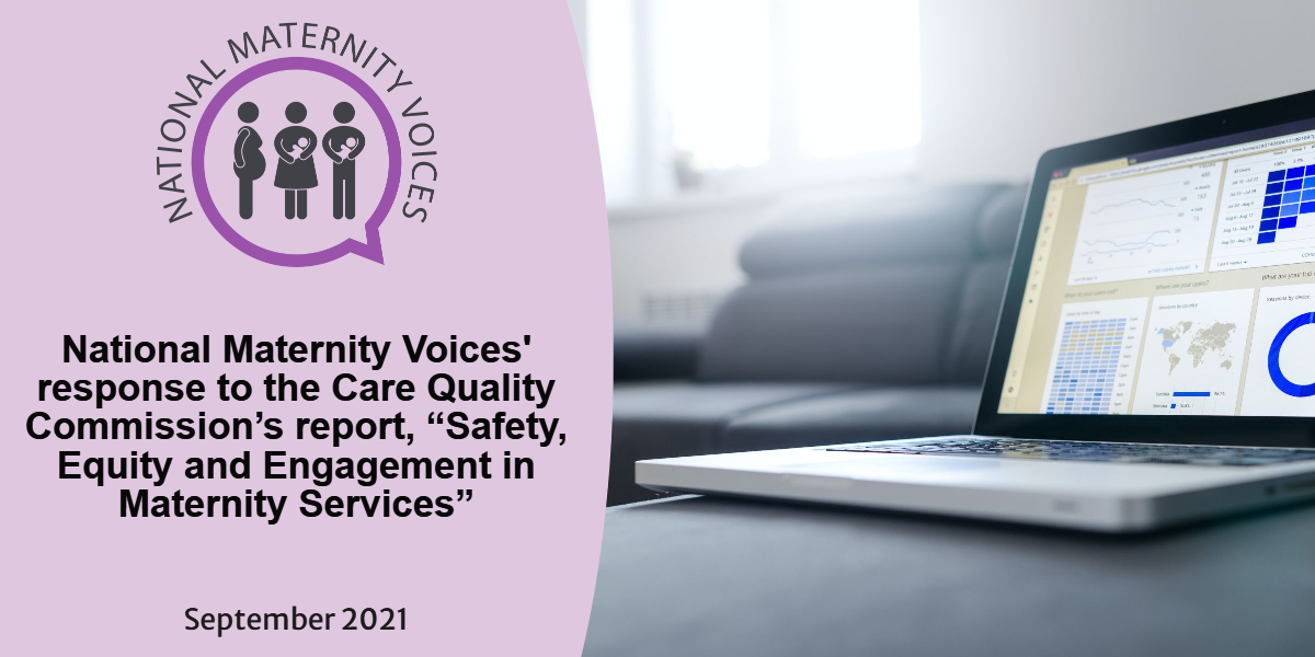 NMV's response to CQC's Maternity Report